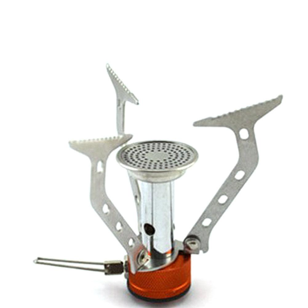 MeterMall Outdoor Camping Gas Furnace Mini Folding Stove Head Cooker Burner Camping Tool