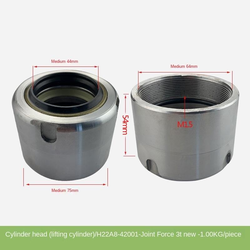 Для головки цилиндра вилочного погрузчика, подъемная головка цилиндра (подъемный цилиндр), направляющая втулка Heli New 3T, оригинальные аксесс...