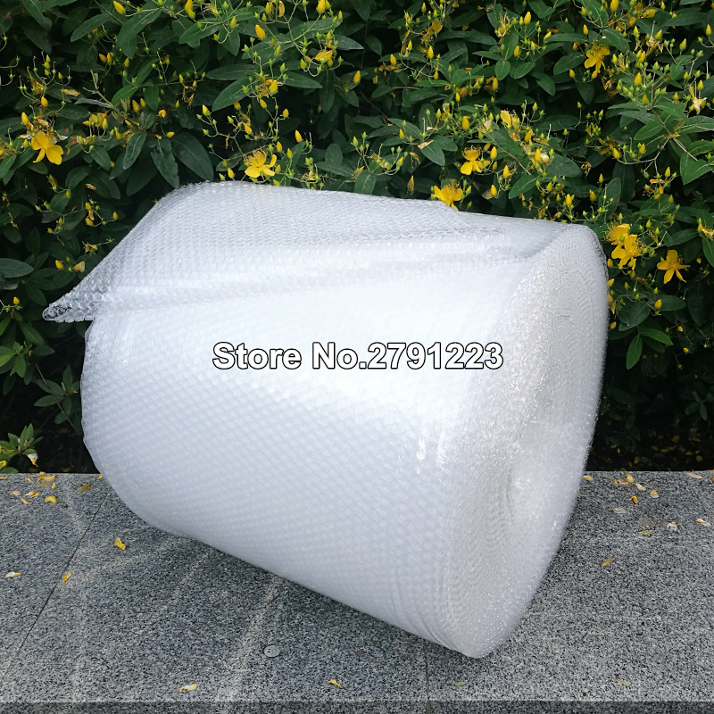 Воздушно-пузырьковая термоусадочная упаковка Burbuja, 0,3*10 м, оберточная бумага Polietileno Emballage Bulle, упаковочный пленочный материал Noppenfolie Verpakking