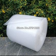 Paquete de cojín de Burbuja de 0,3x10m, Burbuja de envoltura en rollo de Polietileno, bulto de Emballage, materiales de película de embalaje, Noppenfolie Verpakking