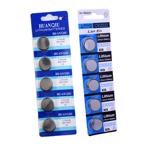 Image 5 - 5pcs CR2032 Battery 3v Button Cell Coin Batteries For Watch Computer Toy Remote Control cr 2032 DL2032 KCR2032 5004LC ECR2032