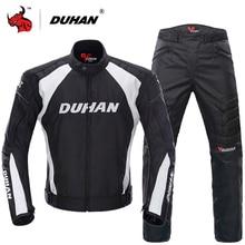 جاكيت للدراجة النارية من DUHAN بدلات لركوب الدراجات النارية وسراويل وجاكيت لركوب الدراجات النارية ملابس واقية مدرعة للرجال للدراجة النارية