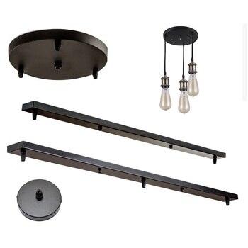 Base de bricolaje para lámpara de celdas, placa de dosel, candelabros de...