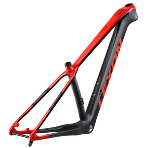 2020 Carbon Frame 29er Lexon Frame Mountain Bike Frame 148*12mm Thru Axle 15/17/19inch BSA
