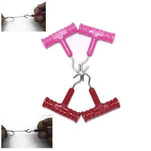 2pcs/lot Knot Rig Puller Knot Tester Tightener Carp Terminal Tackle for Hair Rig Method Feeder Sets Tool Tackle