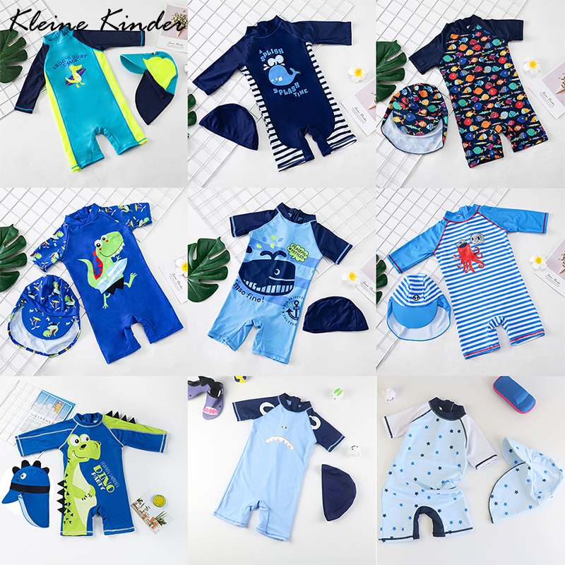 UV Swimsuit Children Swimming Clothes for Kids 2020 New Beach Baby Swim Suit One Piece Toddler Swimwear Boy Bathing Suit Child