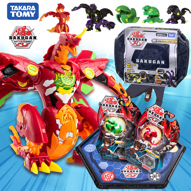 Takara Tomy Toy Bakugan Battle Planet Dragonid Ball Duel Arean Brawlers Spining Top Game Toys For Boy Children Christmas Gifts