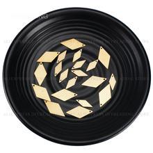 50-500 pces bronze carimbo tags charme diamante geométrico em branco encontrando componente para brincos colar jóias fazendo (muito fino)