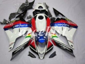 New ABS Injection Mold Motorcycle Full Fairings Kit Fit For Honda CBR600RR F5 2009 2010 2011 2012 bodywork set White