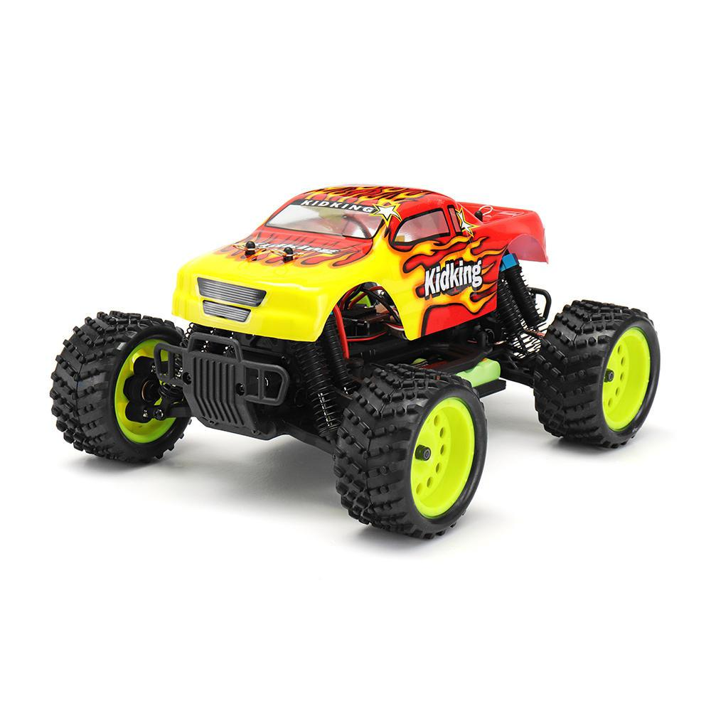 LeadingStar HSP 94186 1/16 2.4G 4WD Electric Power Rc Car Kidking Rc380 Motor Off-road Truck RTR Toy