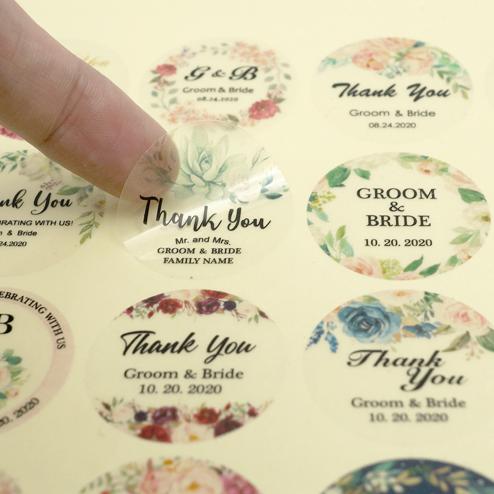 TG056 Personalised Wedding Gift//Favour Tags//Labels