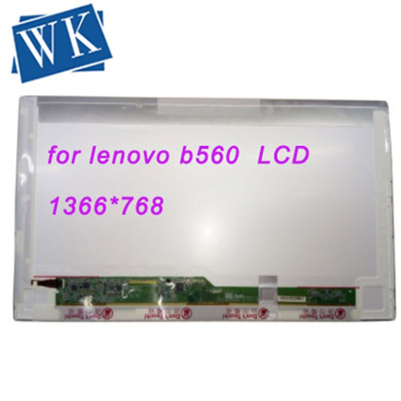 Screen for <font><b>lenovo</b></font> <font><b>b560</b></font> LCD Matrix for Laptop 15.6 HD 1366*768 LED Display Replacement image