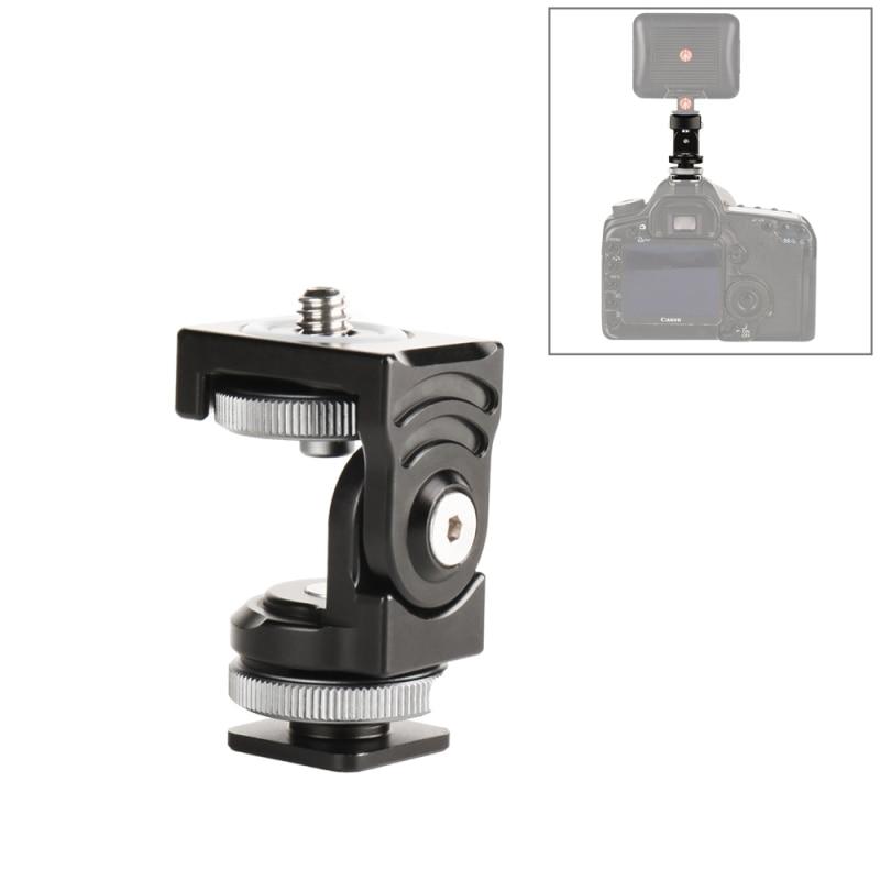 Mount-Bracket-Holder Video-Monitor Dslr-Cameras Hot-Shoe-Head Aluminum-Alloy PULUZ