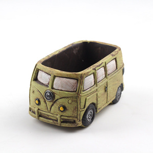 Image 2 - Cute Car Concrete Planter Mold Silicone Flowerpot Mould Handmade Cement Home Decoration Tool