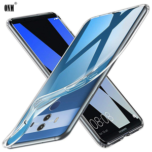 Case For Huawei Mate 10 Mate 10 Lite TPU Silicon Clear Fitted Bumper Soft Case for Huawei Mate 10 Pro Transparent Back Cover