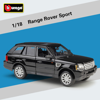 Bburago 1:18 Range Rover Sport Alloy Model Car Static Metal Model Vehicles With Box For Collectibles Gift