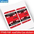 F6r válvula adesivo fdwd roda etiqueta para bicicleta de estrada carbono rodado gás promoções adequado para 60 mm jantes decalques da bicicleta Ades. bic.     -