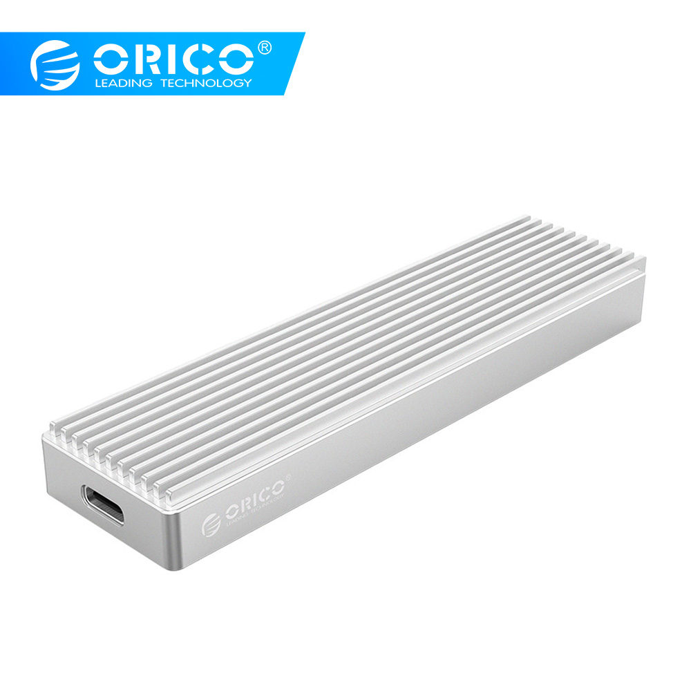 ORICO <font><b>M2</b></font> NVME <font><b>SSD</b></font> Disk Case for NVME PCIE M Key M+B Key USB C 10Gbps Hard Drive Enclosure M.2 <font><b>SSD</b></font> <font><b>Box</b></font> With Type C to C Cable image