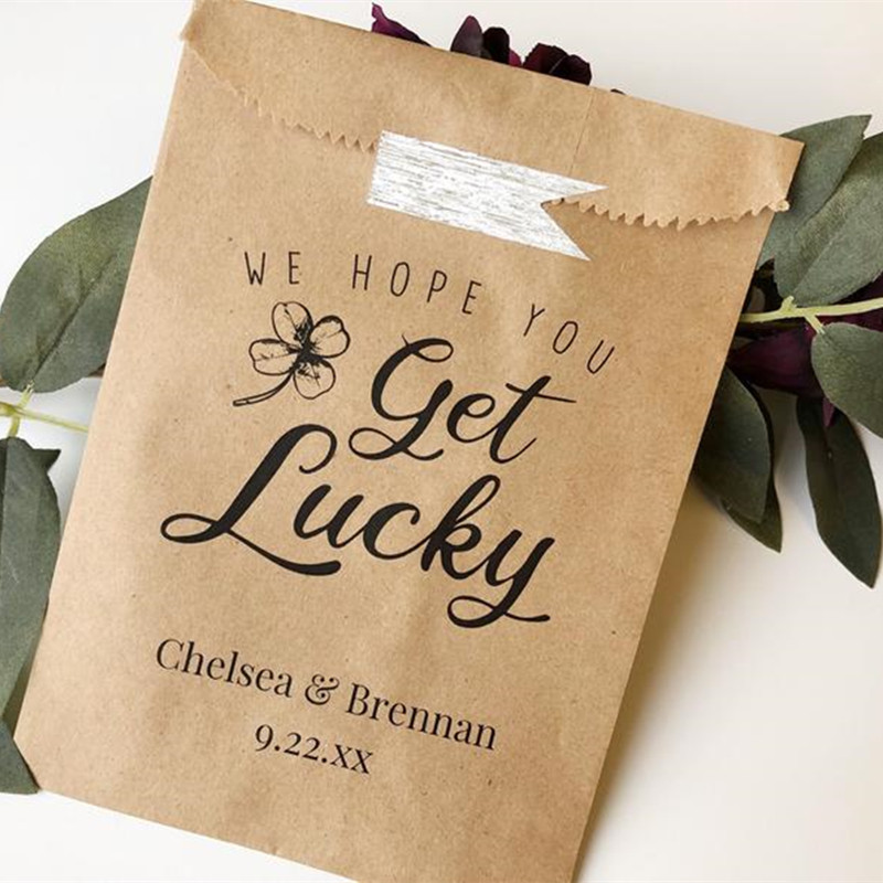 LF DIY Personalized  Lottery Ticket Favors Glassine Bags /& Wood And Lace Labels For Lottery Ticket Favors Lotto Favor Packaging WD
