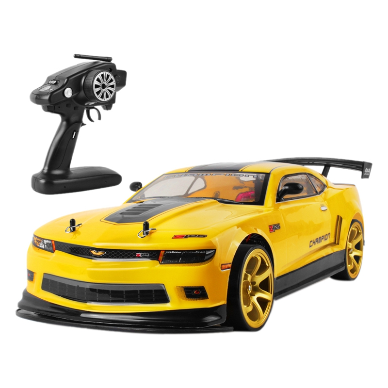 <font><b>1:10</b></font> 70Km/H 2.4G <font><b>RC</b></font> Car <font><b>Drift</b></font> Racing Car Championship 4WD Battery Off Road Radio Remote Control Vehicle Toys&Gifts image
