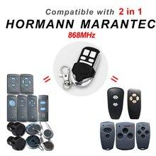 HORMANN 868 HS2 HS4 HSE4 HSM4 HSM2 Marantecโรงรถประตูดิจิตอล302รีโมทคอนโทรลCloneสำหรับD384 D382 Handsender 868MHz