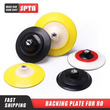 "SPTA 5""/6"" Backing Plate Backer Pad Hook&Loop Dual Action Car Polishing Buffing Buffer Pad Professional    Select Size"