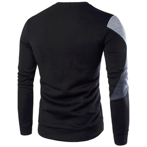 3D Printed Men Sweaters Thick Long Sleeve Shirt O-Neck Wool Sweater Men Striped Slim Fit Knittwear Mens Sweaters Pullovers