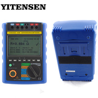 YITENSEN 4108 Analysis Instruments Equipotential Resistance Measurement Digital Earth Resistance Tester