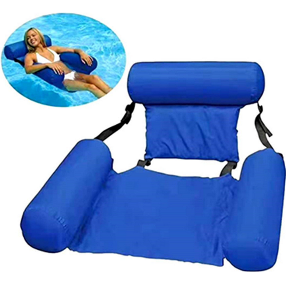 Systematic Summer Inflatable Foldable Floating Row Beach Swimming Pool Water Hammock Chair Hammock Water Sport Mattress Voacation Water Bed