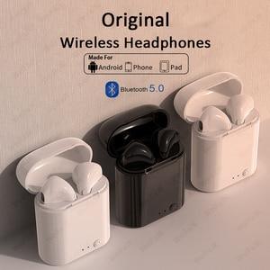 Original i7s TWS Wireless Earpiece Bluetooth 5.0 Earphones Sport Earbuds Headset With Mic For smart Phone Xiaomi Samsung Huawei
