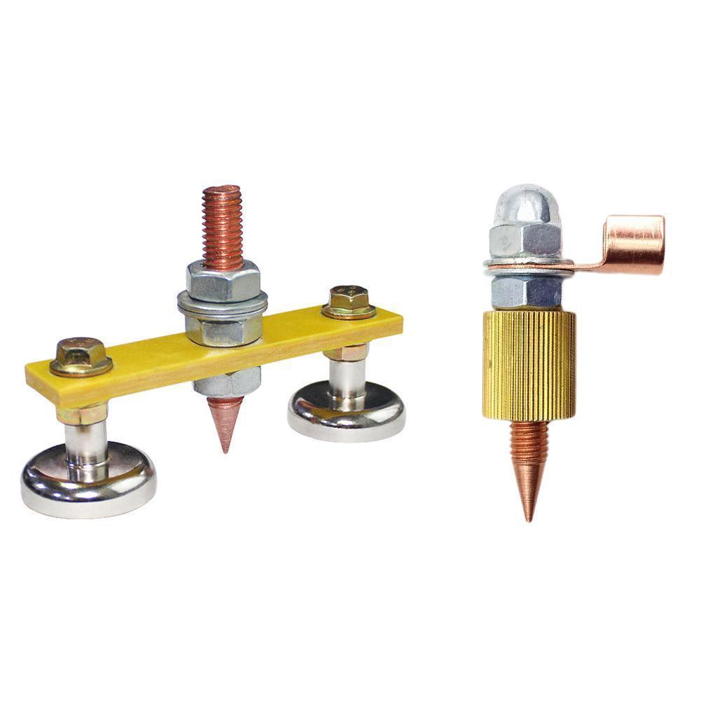 1PC Magnetische schweißen erdung gerät Magnetische Schweißen 200A Boden Clamp 16LBS 500A 66LBS H9C9