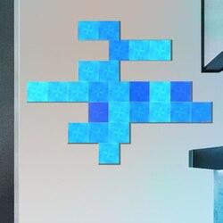Lumière de nuit Nanoleaf carré polychrome intelligent panneau lumineux impair travail avec Mijia pour Apple Homekit Google Home réglage personnalisé