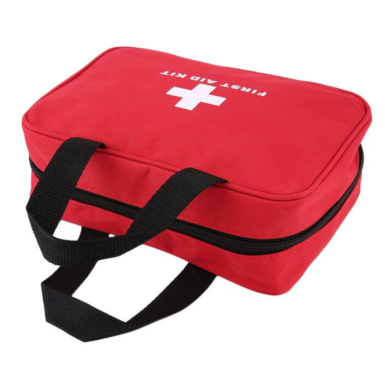 Emergency Survival Mini First Aid Kit Pack Travel Medical Sports Bag Case