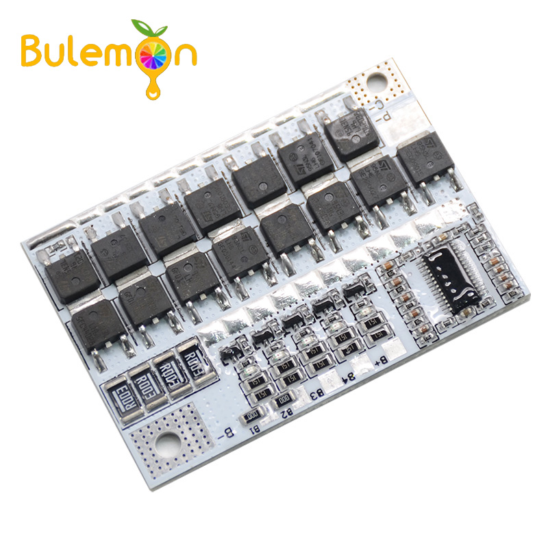 12V 100A 3S/4S/5S BMS Li-ion LMO Ternary Lithium Battery Protection Circuit Board