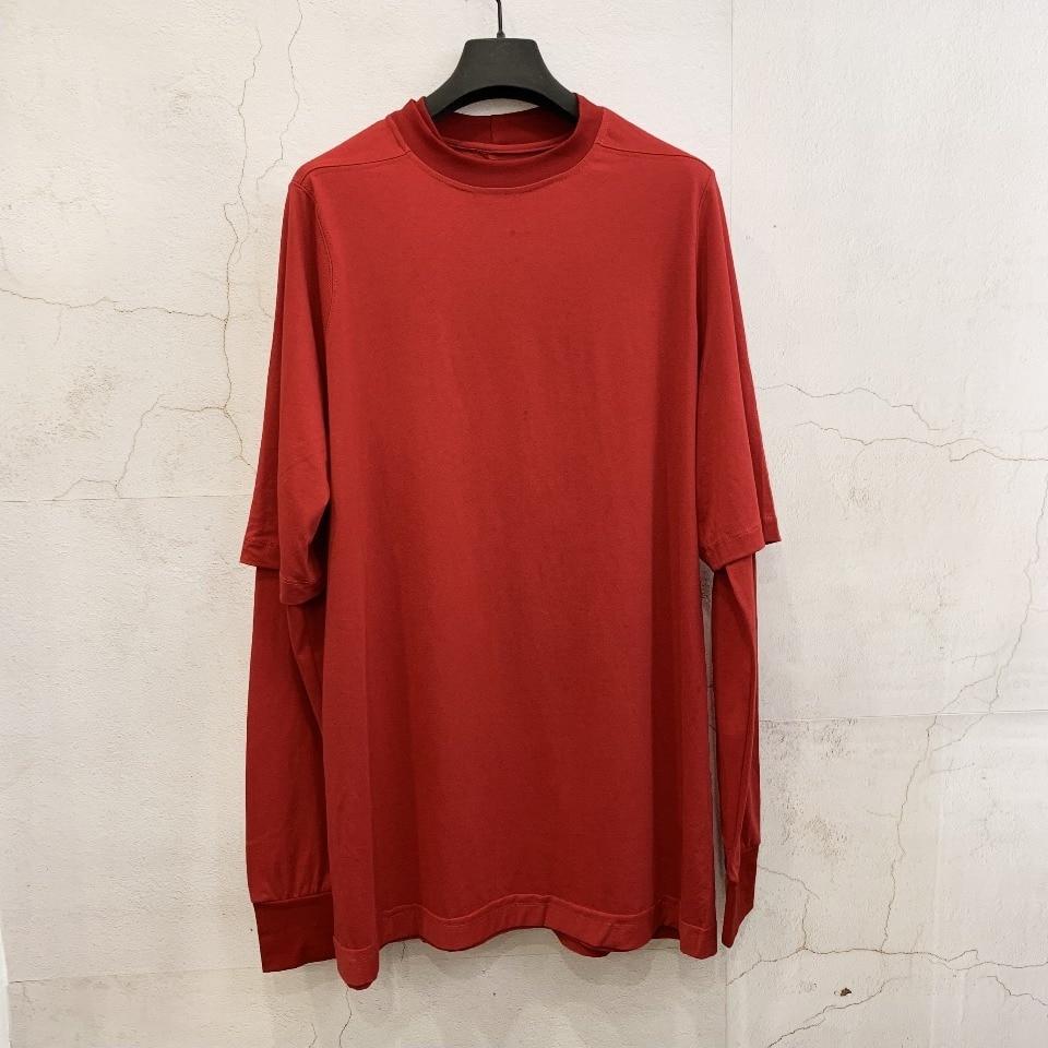 Owen seak мужские толстовки из 100% хлопка, толстовки в готическом стиле, Мужская одежда, Классические Осенние Женские однотонные красные толстов