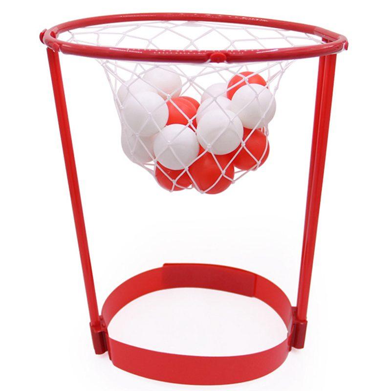Hot-Outdoor Fun Sports Entertainment Basket Ball Case Headband Hoop Game Parent-Child Interactive Funny Sports Toy Family Fun Ga