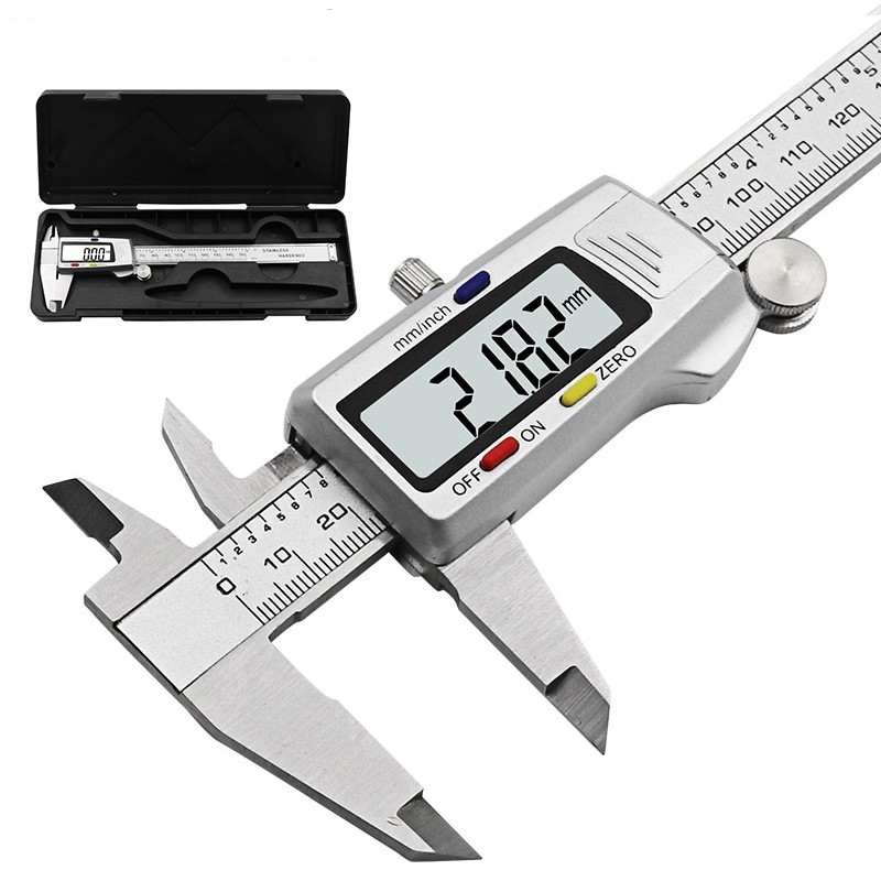 NEW Stainless Steel Digital Caliper 6 inch Electronic Vernier 150mm Free Ship