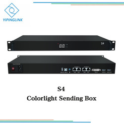 Colorlight S4 sending box card hdmi dvi input 4 ports output full color led screen controller