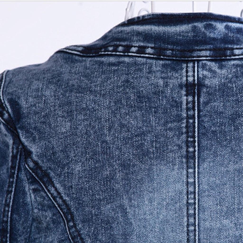 Hb35ff312dbef4f6195dcb4da92d3fa09H JAYCOSIN Women's Coat New Fashion 2019 Denim Coat Ladies Casual Jacket Outwear Jeans Overcoat female Turn-down Collar jackets