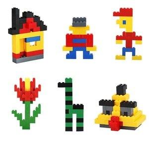 Image 4 - مجموعة مكعبات بناء كلاسيكية من eويلبيعت عدد 500/1000 قطعة من ألعاب التركيب الفني للمدينة