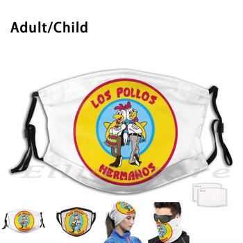Hermanos Mask Adult Kids Reusable Pm2.5 Filter Hermanos Hermanos Jesse Walt Jesse And Walt Walt And Jesse Walter White I Am The image