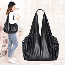 2019 PU hobo Luxury top-handle ladies Handbag Women Shoulder Bags  soft messenger satchel Bags Leather casual tote sac a main