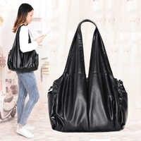 2019 plutônio hobo luxo top-lidar com senhoras bolsa feminina sacos de ombro mensageiro macio sacos de couro casual tote sac a principal