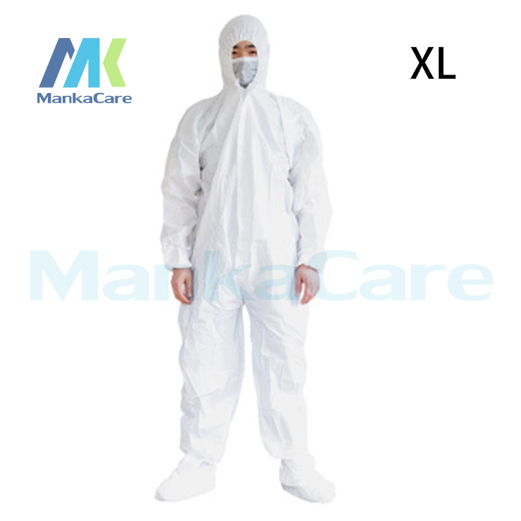 Medical Disposable Protective Clothing Suit Breathable Surgical Isolation Gown Blue Protective Coverall Combination Virus