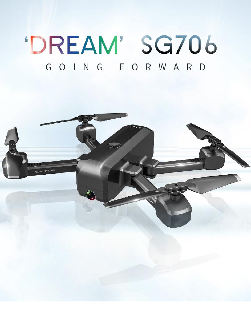 SG706 Foldable Quadcopter Helicopter Drone with 4K 1080P HD Dual Camera 17