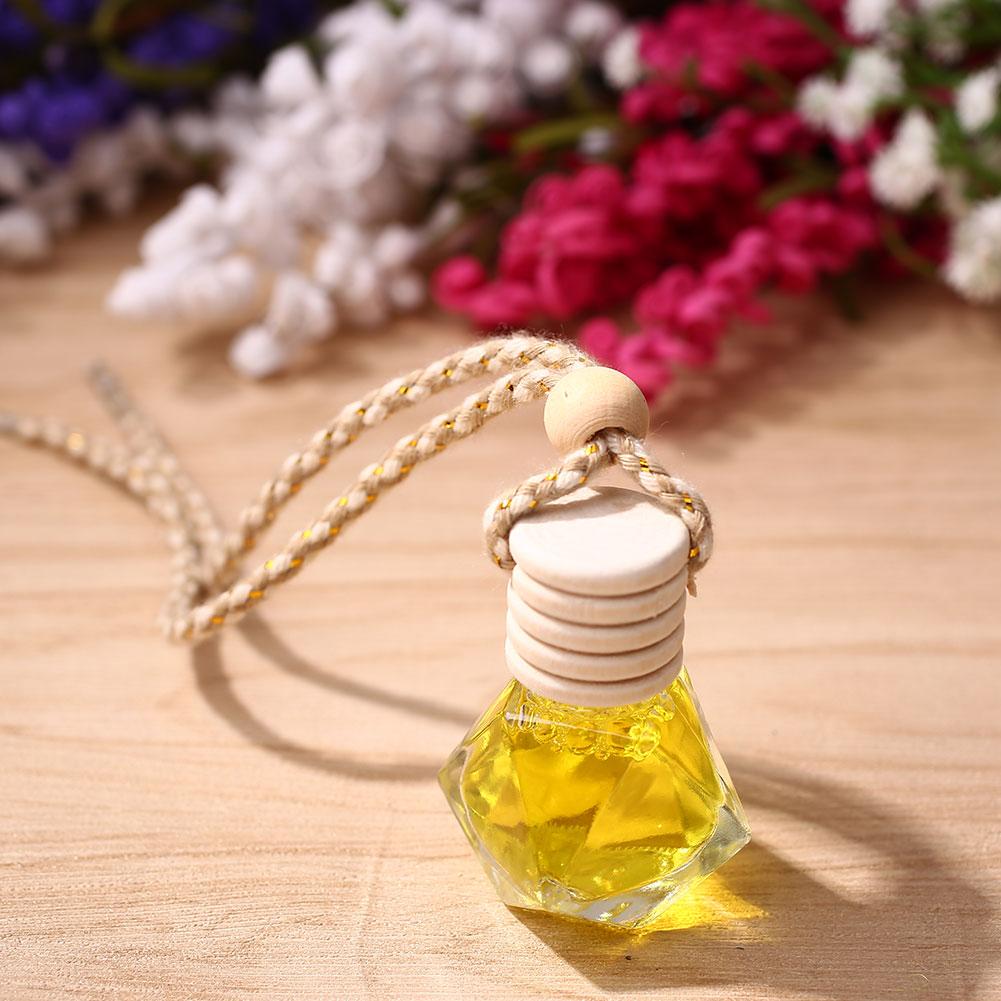 8ml Car Fragrance Perfume Pendant Decorative Pendant Hanging Hanging Essential Oil Diffuser Home Cars Decoration