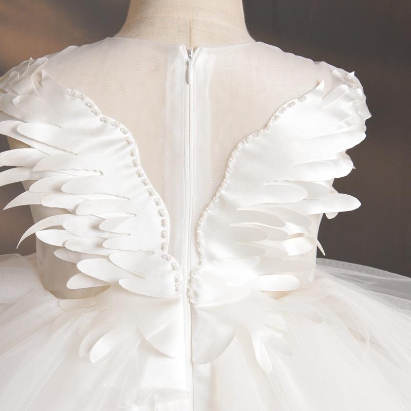 tule de cristal princesa pageant roupas de
