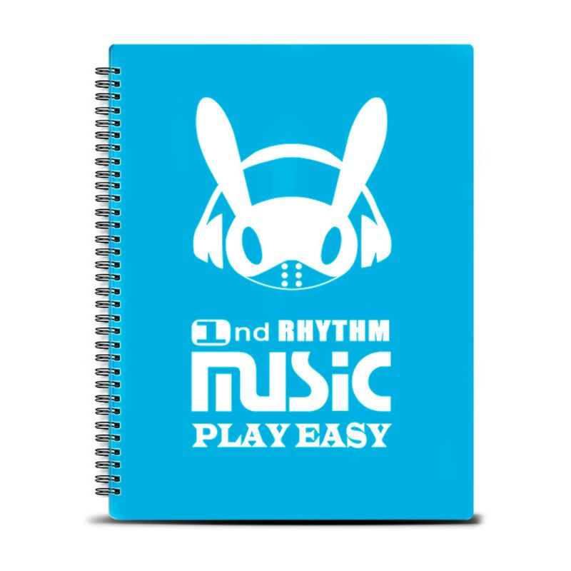 20 Pages A4 Size Music Score Sheet Document File Folder Organizer Player Concert