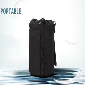 Water Bottle Pouch 1l Water Bags Outdoor Tactical Military Backpack Molle Holder Pouch Bag System Bottle Hydration Water Ke B7D6 2