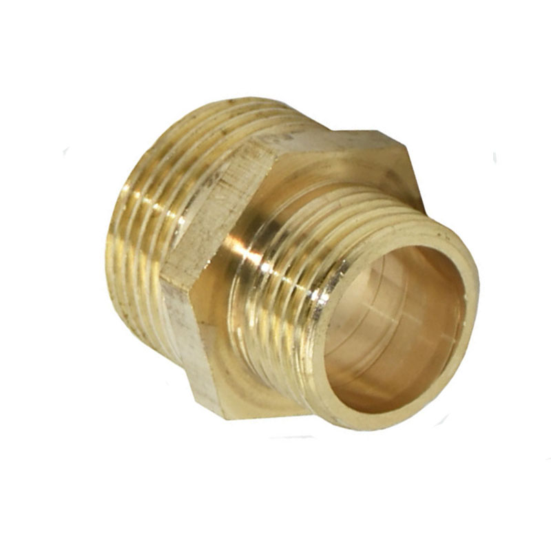 Male 3/4 To 1/2 Reducing Threaded Connector Hose Repair Threaded Faucet Drip Irrigation Fitting 1pcs